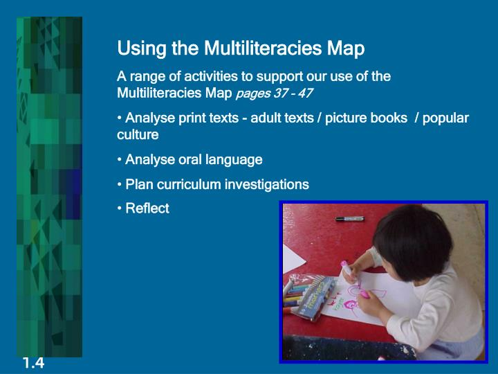 Using the Multiliteracies Map