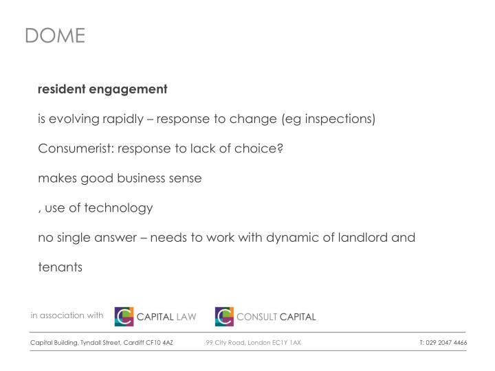 resident engagement