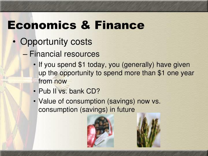 Economics & Finance