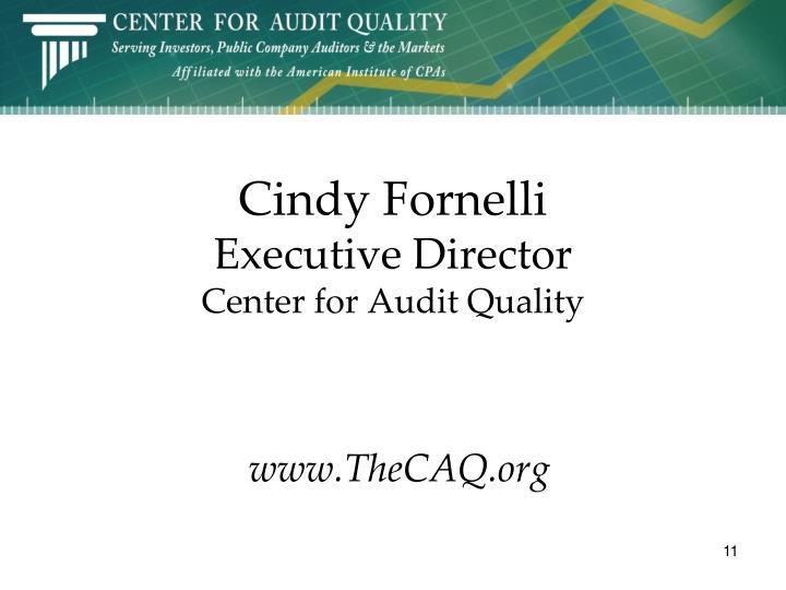 Cindy Fornelli