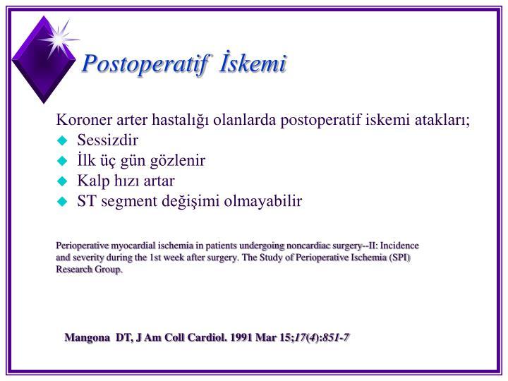 Postoperatif