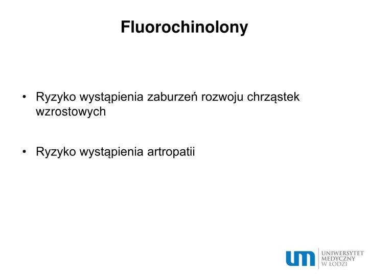 Fluorochinolony