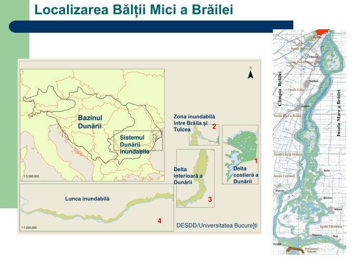 Zona inundabilă între Brăila și Tulcea