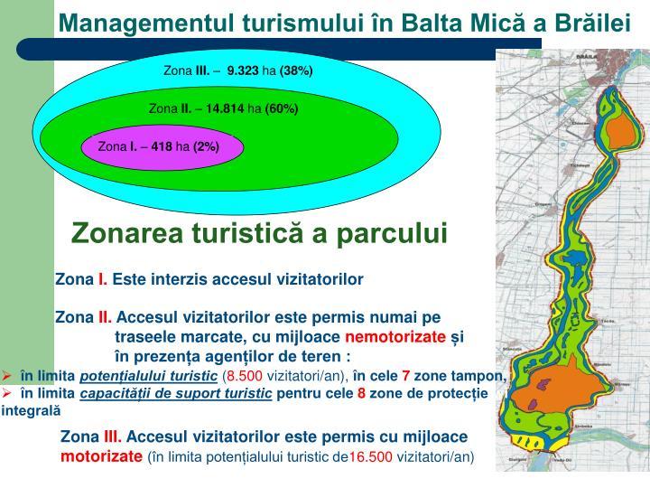 Managementul turismului în Balta Mică a Brăilei