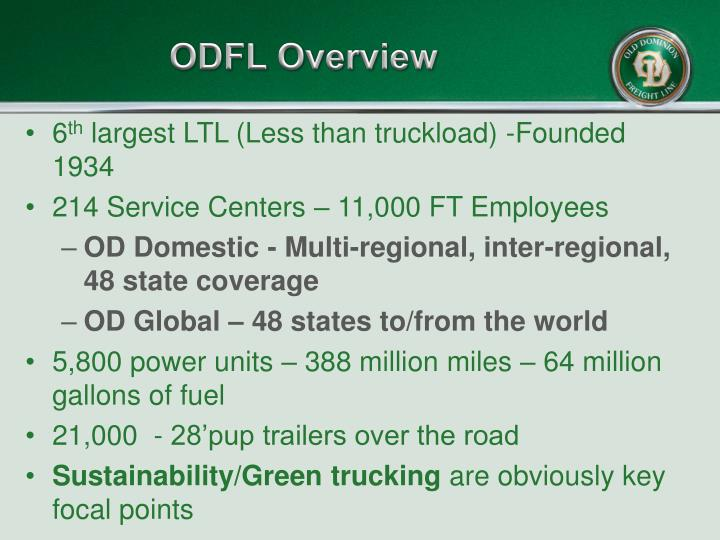 ODFL Overview