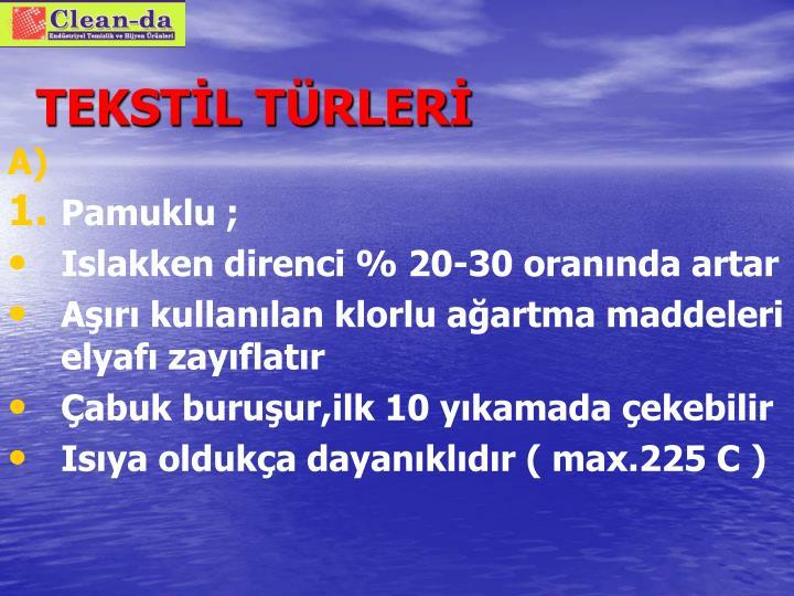 TEKSTİL TÜRLERİ