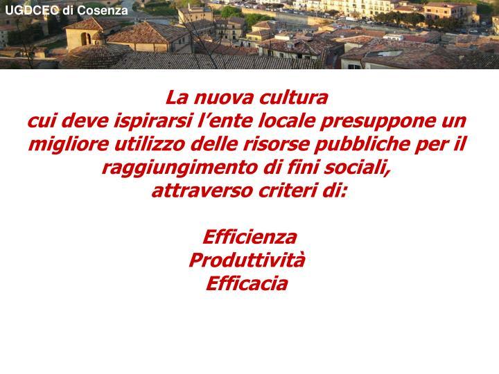 UGDCEC di Cosenza