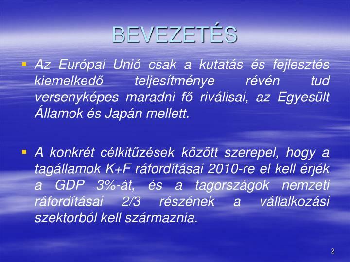 BEVEZETS