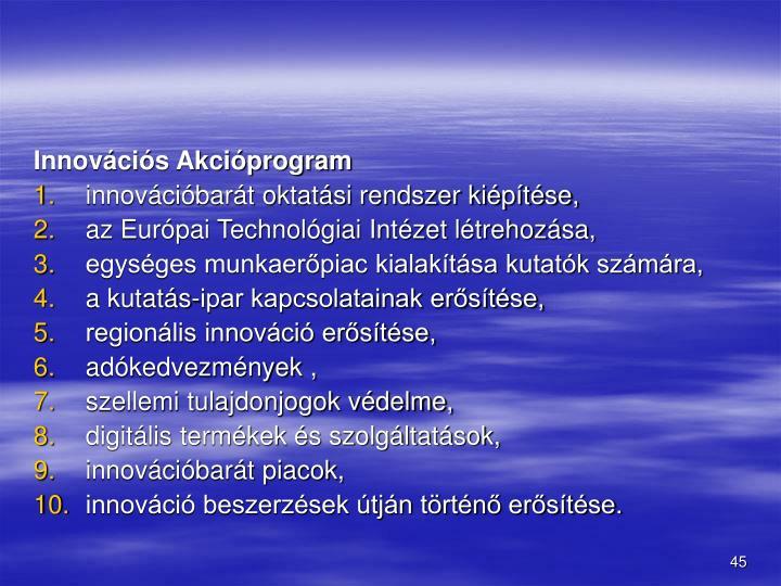 Innovcis Akciprogram