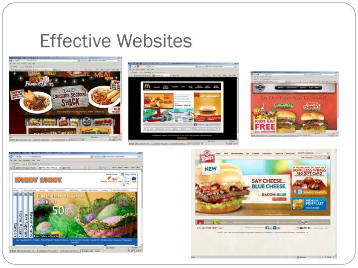 Effective Websites
