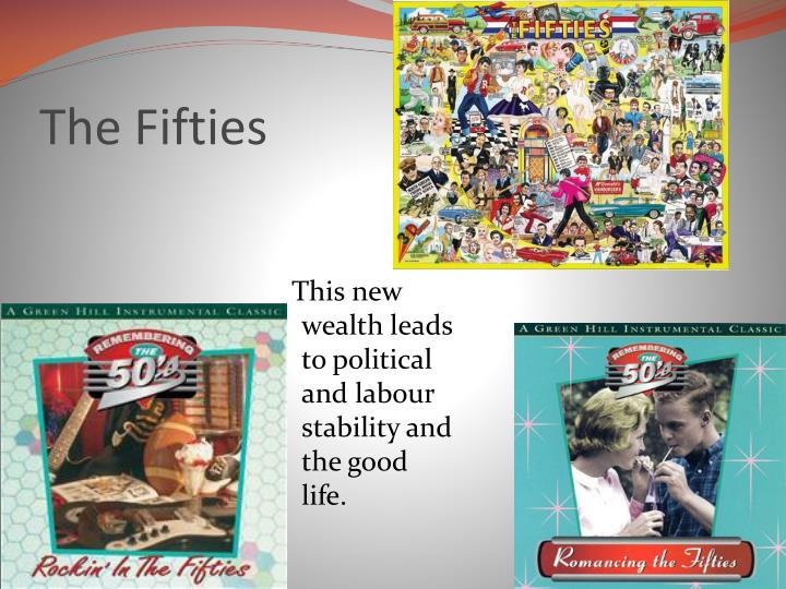 The Fifties