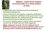 babbitt v sweet home chapter of communities for a great oregon in text