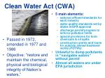 clean water act cwa