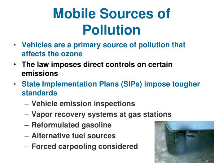 Mobile Sources of Pollution