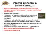 peconic baykeeper v suffolk county cont