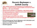 peconic baykeeper v suffolk county