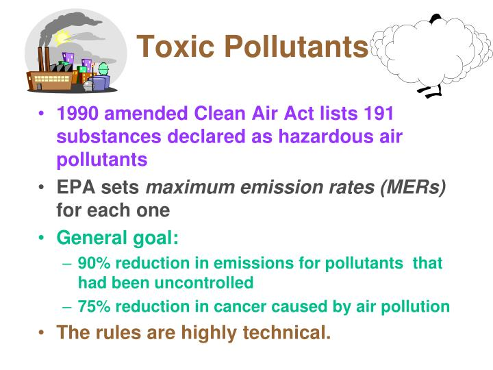 Toxic Pollutants