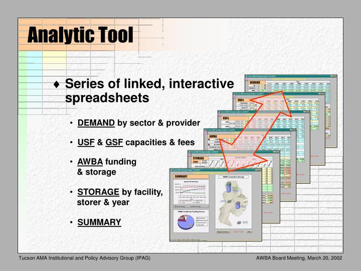 Analytic Tool