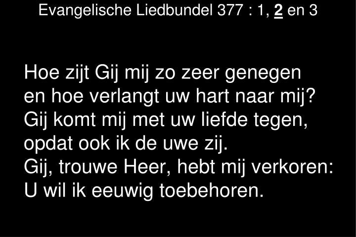 Evangelische Liedbundel 377 : 1,