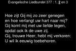 evangelische liedbundel 377 1 2 en 31