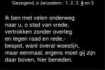 gezegend o jeruzalem 1 2 3 4 en 53