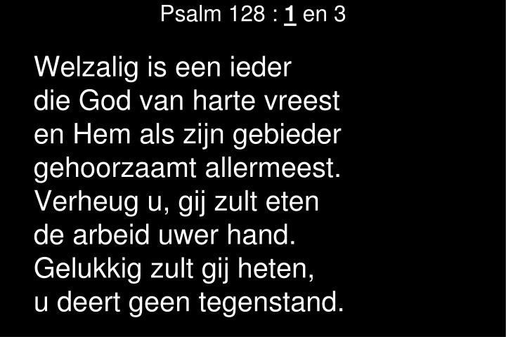 Psalm 128 :