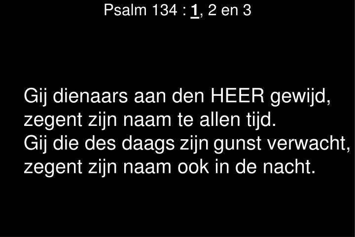 Psalm 134 :