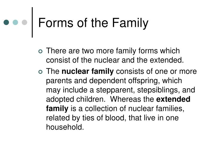Forms of the Family