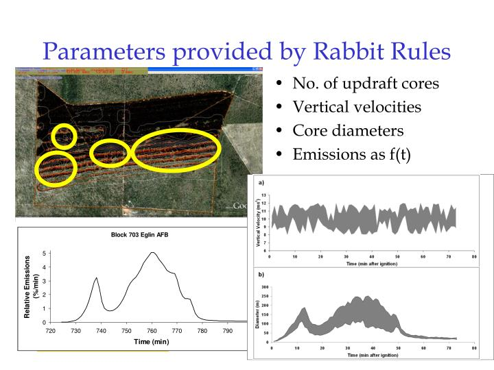 Parameters provided by Rabbit Rules