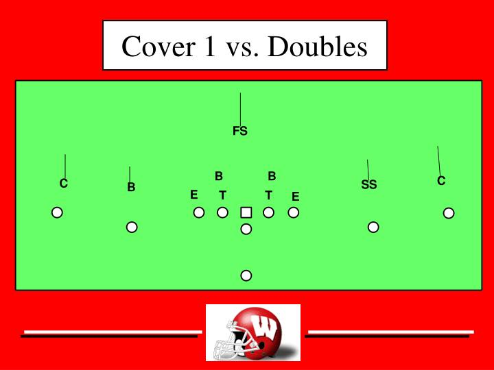 Cover 1 vs. Doubles