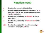 notation cont