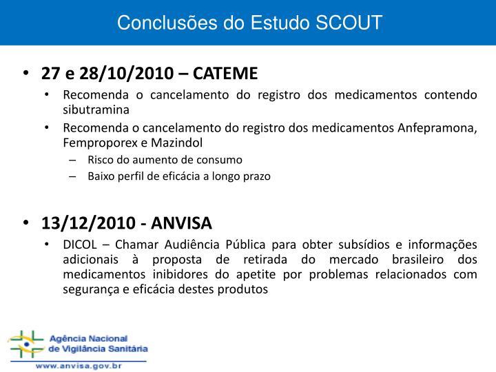 Conclusões do Estudo SCOUT