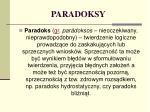 paradoksy