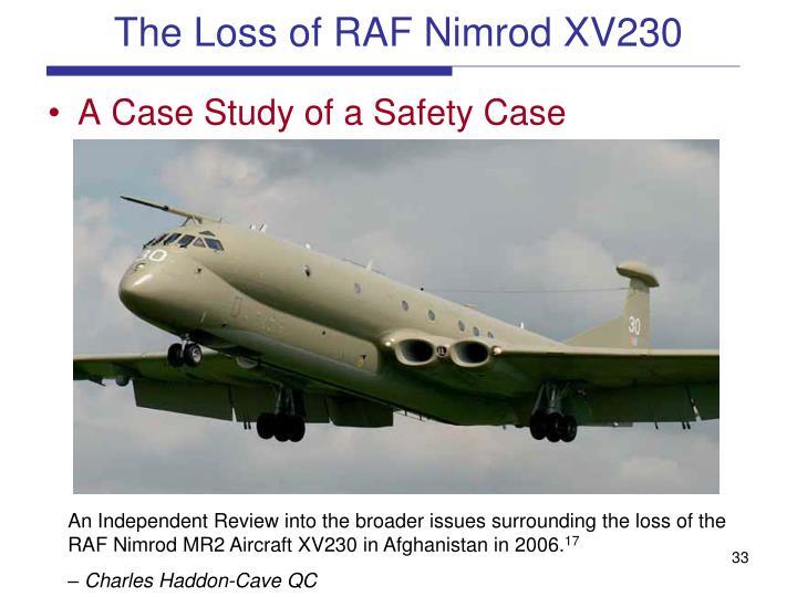 The Loss of RAF Nimrod XV230