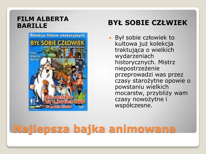 FILM ALBERTA BARILLE