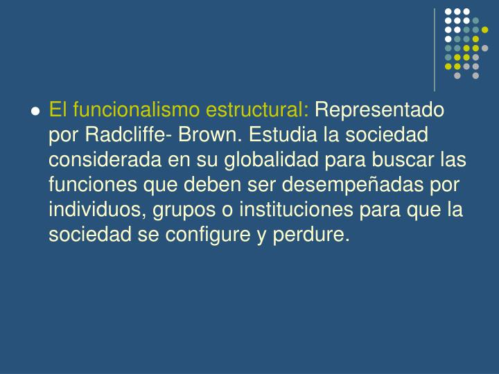 radcliffe brown notes