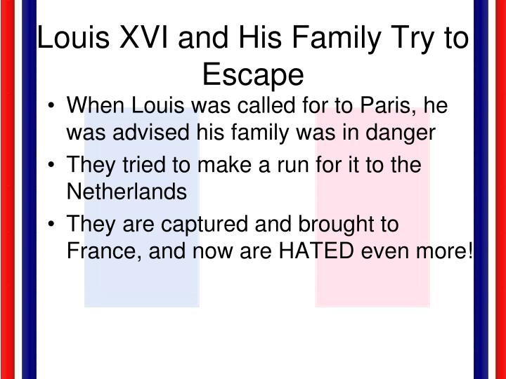 Louis XVI and His Family Try to Escape