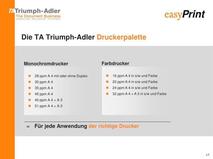 Die TA Triumph-Adler