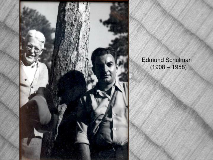 Edmund Schulman