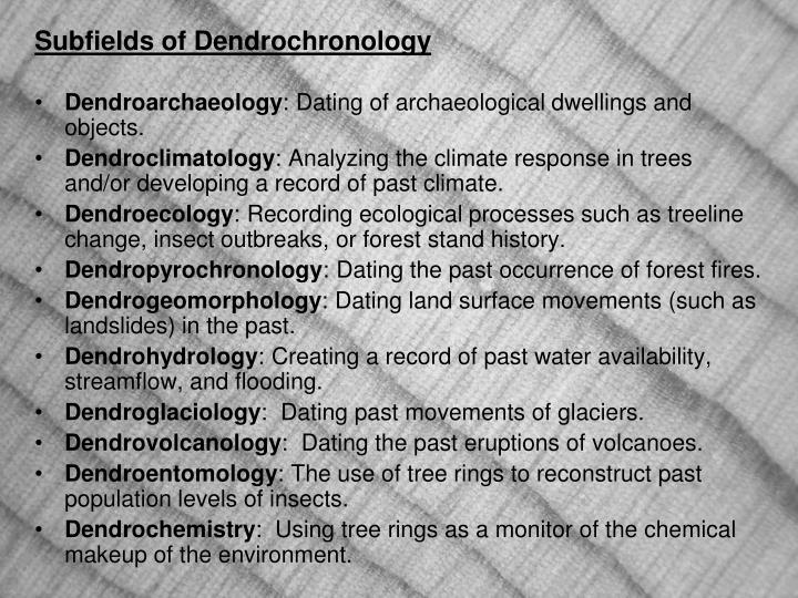 Dendroarchaeology