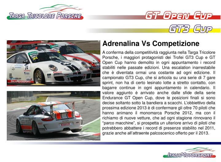 Adrenalina Vs Competizione