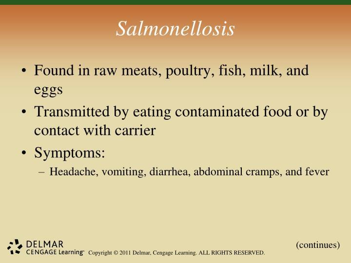 Salmonellosis