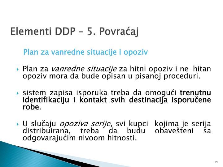 Elementi DDP