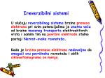 ireverzibilni sistemi