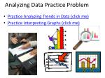 analyzing data practice problem