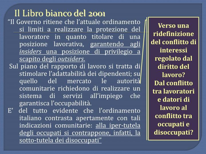 Il Libro bianco del 2001