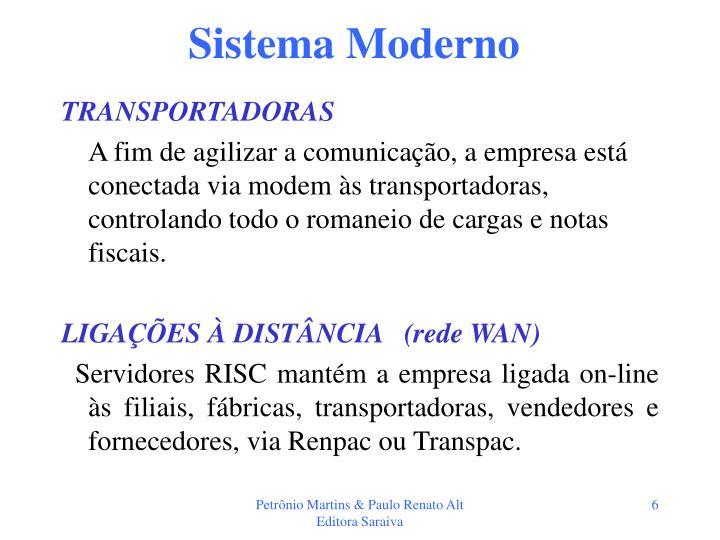 Sistema Moderno