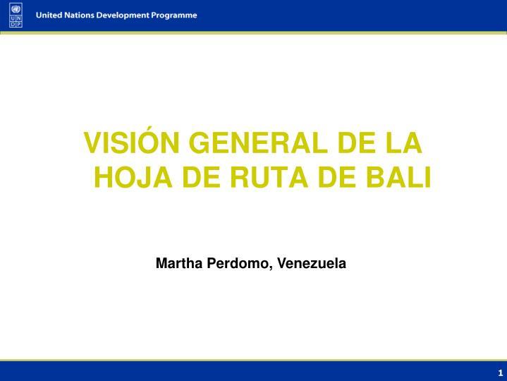 Martha Perdomo, Venezuela