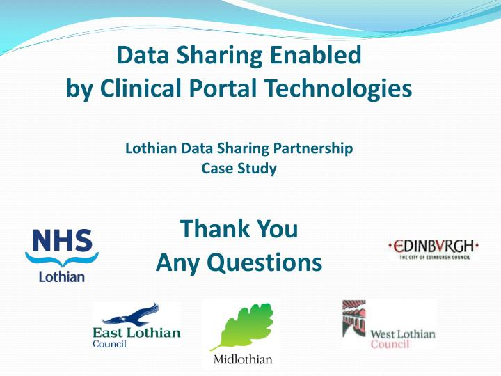 Data Sharing Enabled
