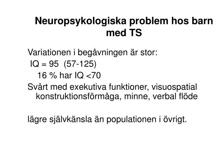Neuropsykologiska